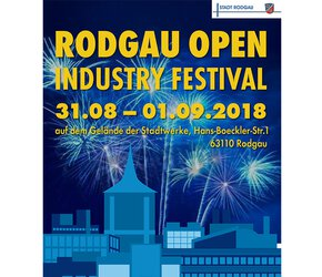 Cover page for the Rodgau Open Festival event